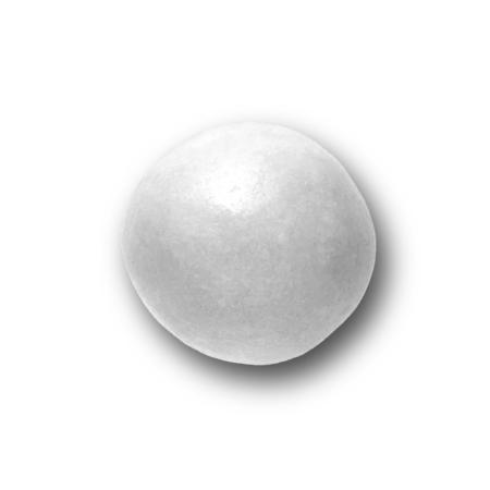 κουφέτα crispy περλέ λευκό Καραμάνης για μπομπονιέρες γάμου, βάπτισης, candy bar