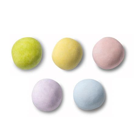 Κουφέτα crispy παστέλ πολύχρωμα Καραμάνης για μπομπονιέρες βάπτισης, candy bar, ζαχαροπλαστική, πάρτυ