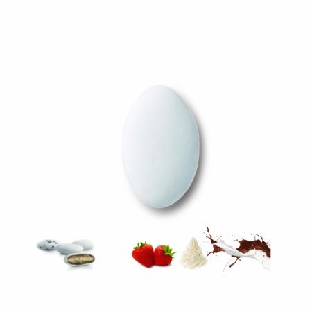 Κουφέτα διπλής σοκολάτας deluxe φράουλα-σαντιγί Καραμάνης για μπομπονιέρες γάμου, βάπτισης, candy bar, ζαχαροπλαστική