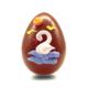Πασχαλινά σοκολατένια αυγά χειροποίητα με γνήσια σοκολάτα γάλακτος και φυσικές χρωστικές